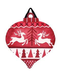 Nordic Deer Door Décor