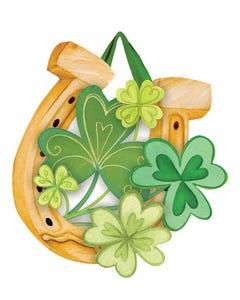 Lucky to be Irish Door Décor