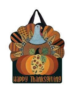 Thanksgiving Turkey Door Décor