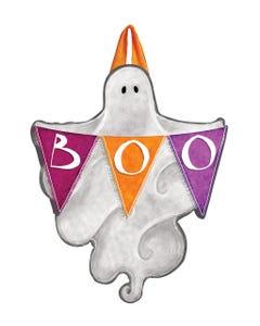 Halloween Ghost Door Décor