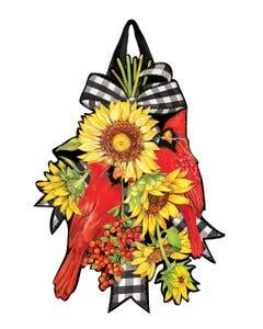Sunflower Visit Door Décor