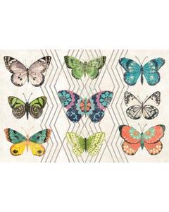 Eden Butterflies Floor Flair - 2 x 3