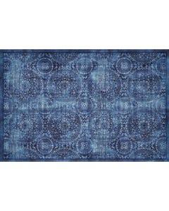 Medallion Blue Floor Flair - 2 x 3