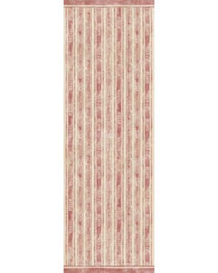 Feed Sack Stripe - Red Floor Flair - 2 x 6