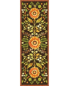 Indian Summer Floral Floor Flair - 2 x 6