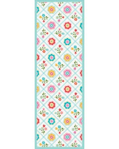 Quilted Floral -Multi Floor Flair - 2 x 6