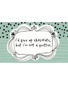 Chocolate Floor Flair - 3 x 5