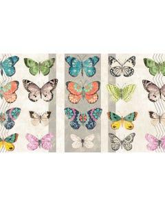 Eden Butterflies Floor Flair - 3 x 5