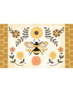 Honey and Hive Floor Flair - 3 x 5