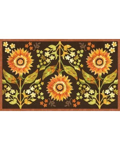 Indian Summer Floral Floor Flair - 3 x 5