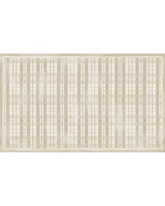 Fine Line Plaid -Linen Floor Flair - 3 x 5