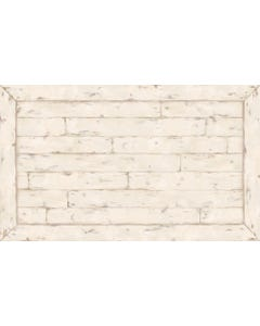 White Washed Wood Floor Flair - 3 x 5