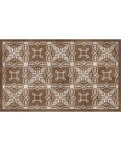 Wrangler - Taupe Floor Flair - 3 x 5