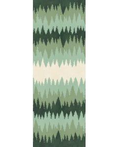 Forest Treeline Floor Flair - 2.5 x 7