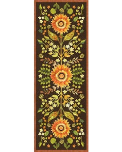 Indian Summer Floral Floor Flair - 2.5 x 7