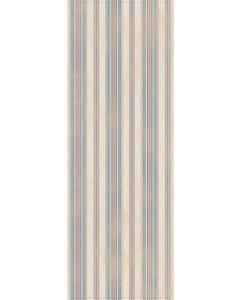 Ticking Stripes - Blue/Red Floor Flair - 2.5 x 7