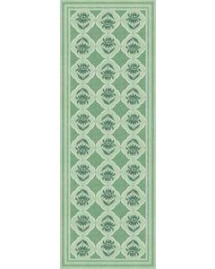 Single Stem Medallion - Sage Floor Flair - 2.5 x 7