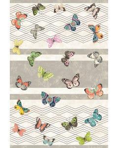 Eden Butterflies Floor Flair - 4 x 6