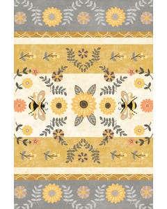 Honey and Hive Floor Flair - 4 x 6