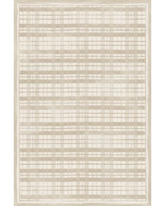 Fine Line Plaid -Linen Floor Flair - 4 x 6