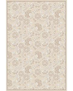 Porcelain Neutral Floor Flair - 4 x 6