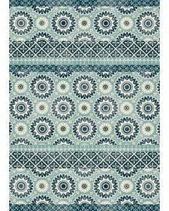 Balance - Aqua Floor Flair - 5 x 7