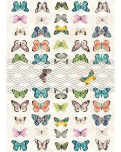 Eden Butterflies Floor Flair - 5 x 7
