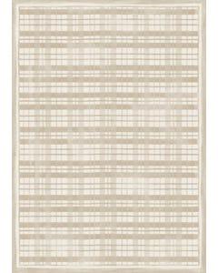 Fine Line Plaid -Linen Floor Flair - 5 x 7