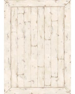 White Washed Wood Floor Flair - 5 x 7