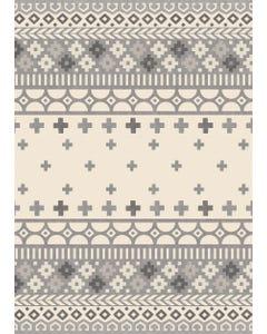 Nordic - Grey Floor Flair - 5 x 7