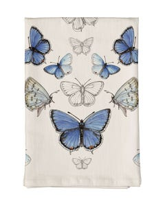Eastern Tailed-Blue Butterfly Towel