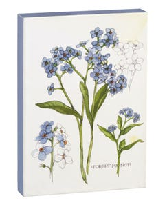 Forget-Me-Not 5x7 Canvas
