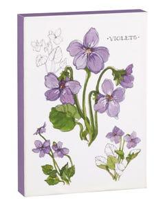 Violet 5x7 Canvas