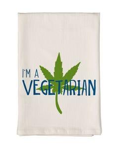 I'm a Vegetarian Towel