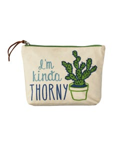 I'm Kinda Thorny Pouch