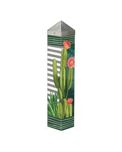 "Night Cactus 20"" Art Pole"