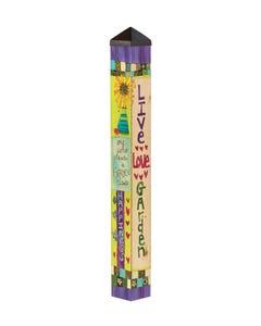 Live Love Garden 3' Art Pole