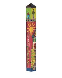 "Family Home 40"" Art Pole"