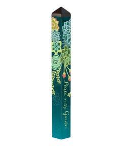 """Boho Succulents 40"""" Art Pole"""