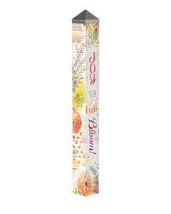 "Fresh Flowers 40"" Art Pole"