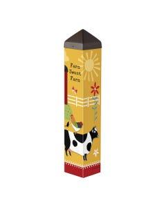 "Farm Charm Animals 20"" Art Pole"