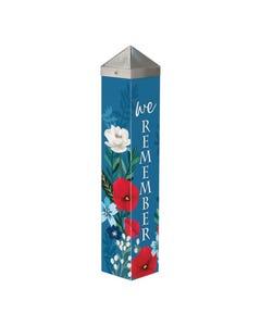 "We Remember 20"" Art Pole"