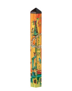 """Share Your Song 40"""" Art Pole"""