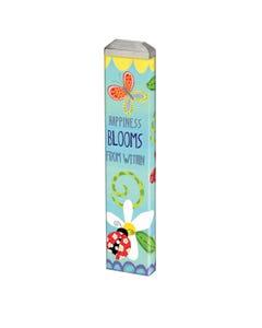 "Happiness Blooms 13"" Mini Art Pole"