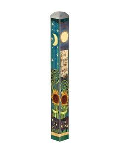 "Find Peace 16"" Mini Art Pole"
