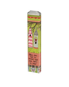 "Jolly Heart 13"" Mini Art Pole"