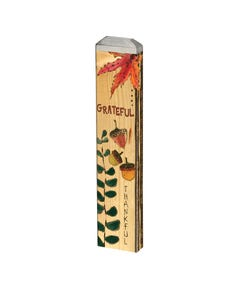 "Grateful Greeting 13"" Mini Art Pole"