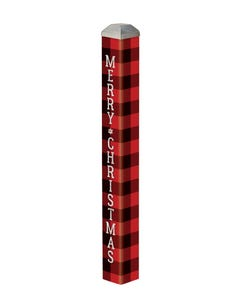 "Buffalo Check  16"" Mini Art Pole"