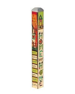 "Happy Home 16"" Mini Art Pole"