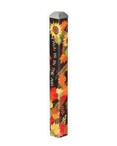 """Fall Grapevine 16"""" Mini Art Pole"""